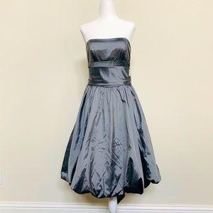 Elegant Satin Evening Dress Size 4